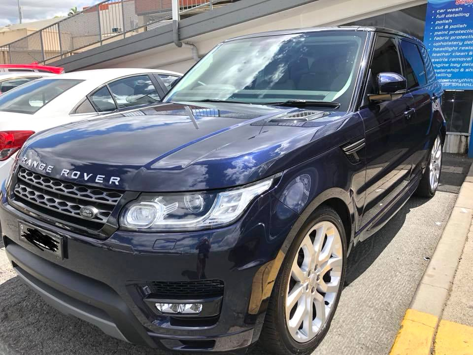 Clean Range Rover